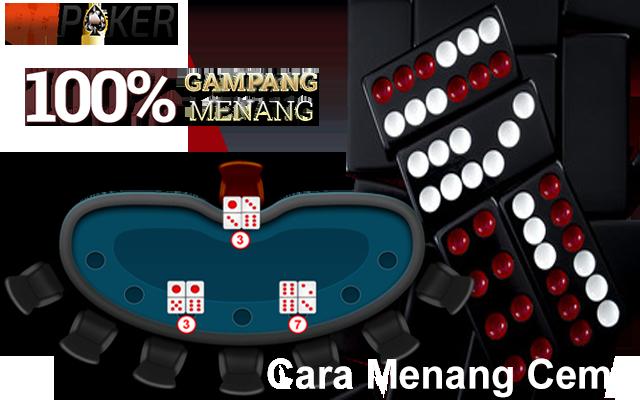 cara menang main ceme online