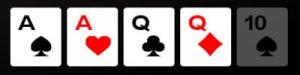 two pair poker